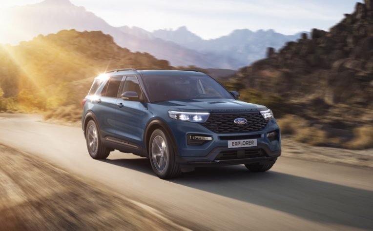 motore Ford Explorer ibrida plug-in