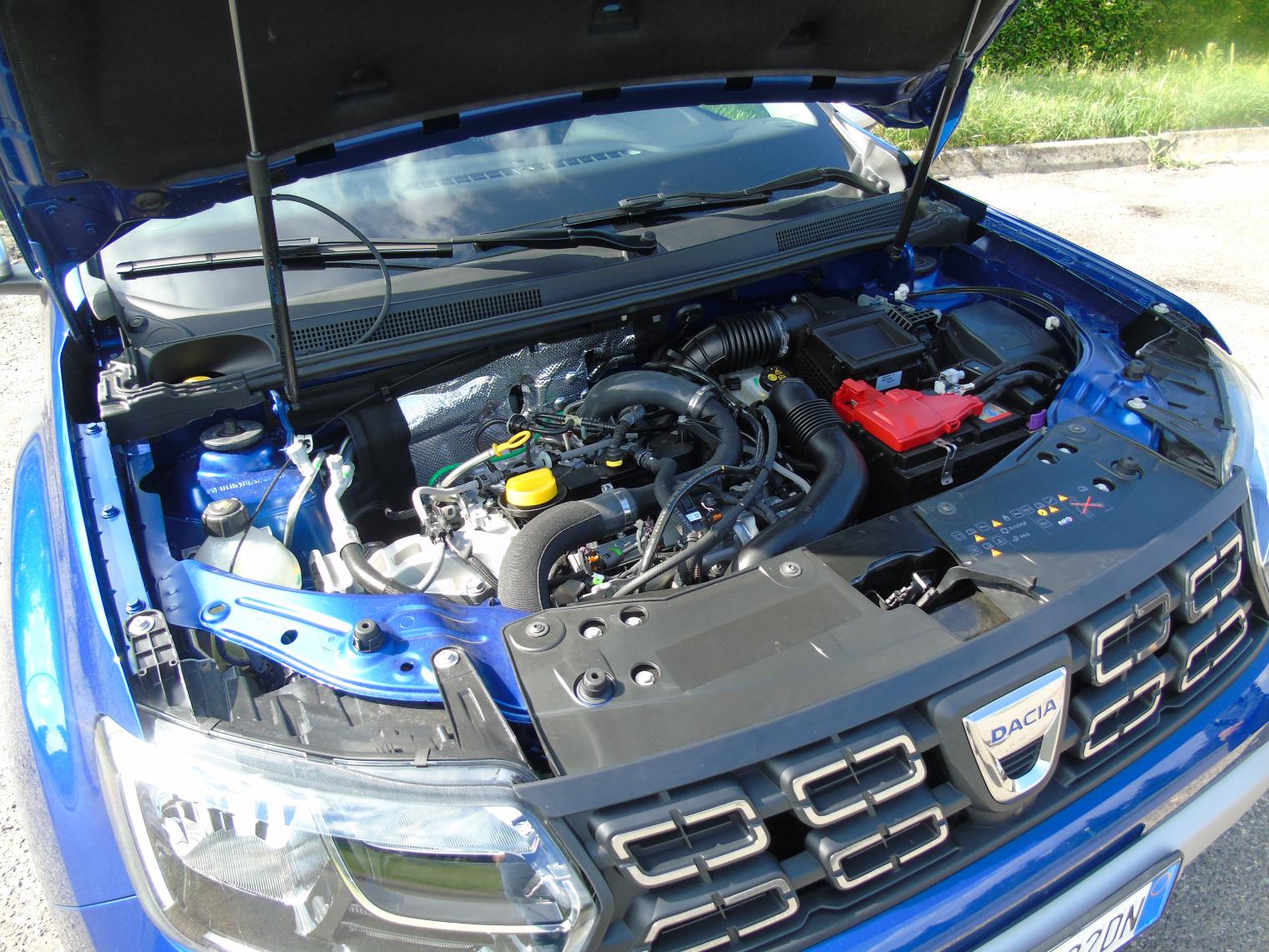 Motore nuova Dacia Duster GPL