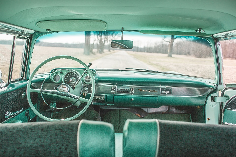 interni auto con materiali riciclati