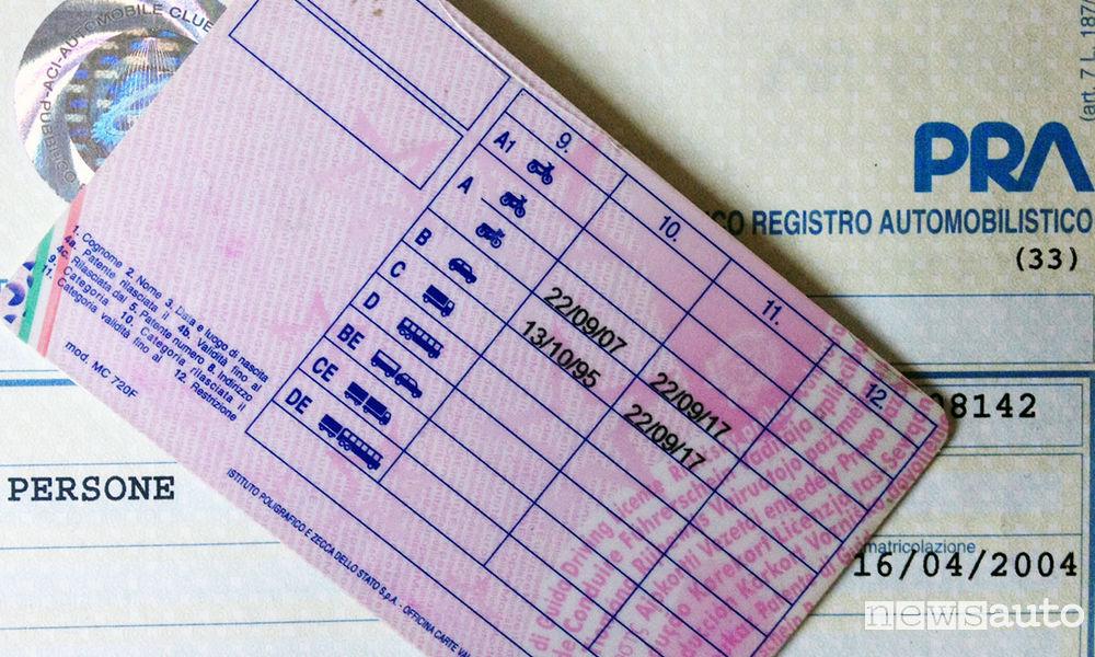 nuove regole esami di guida - patente