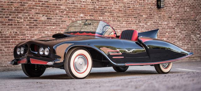 storia della batmobile - anni 50