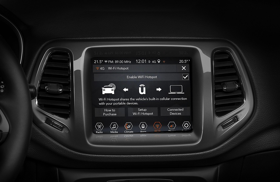 Plancia Jeep Compass 2020