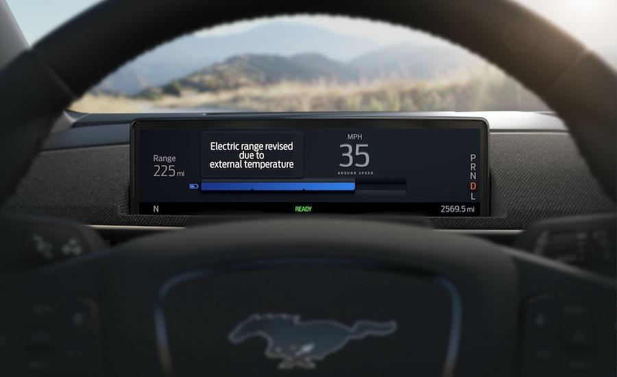 Autonomia di Mustang Mach-E