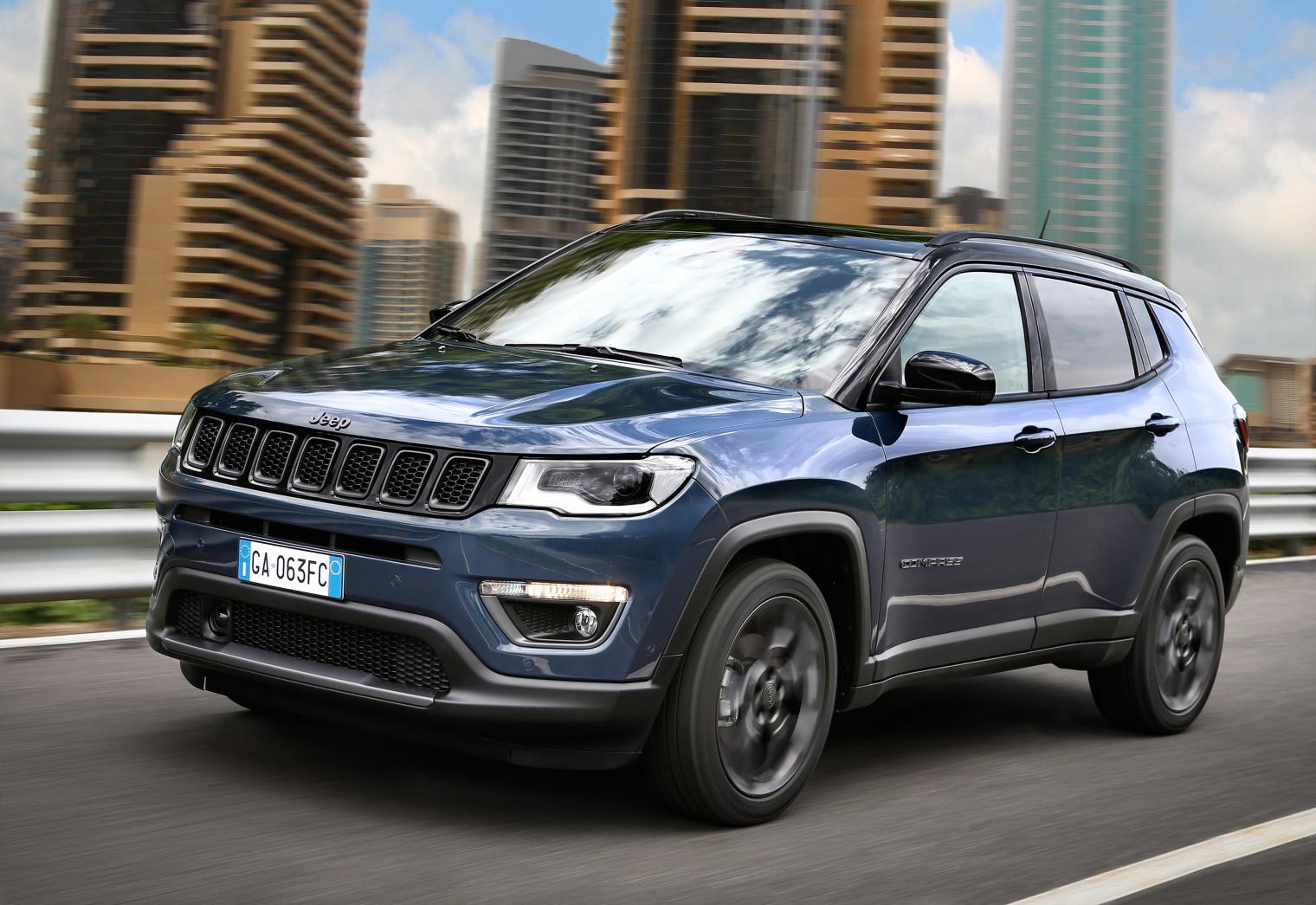 Esterni nuova Jeep Compass 2020