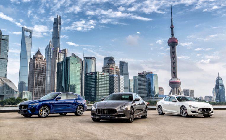 Gamma Maserati flotte aziendali