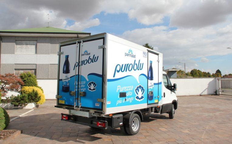 Gruppo Lactalis furgone Parmalat