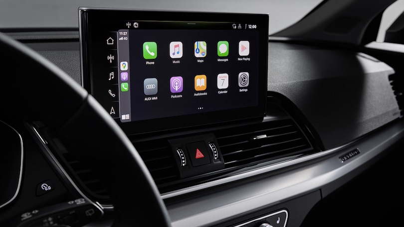 Infotainment di Audi Q5 restyling