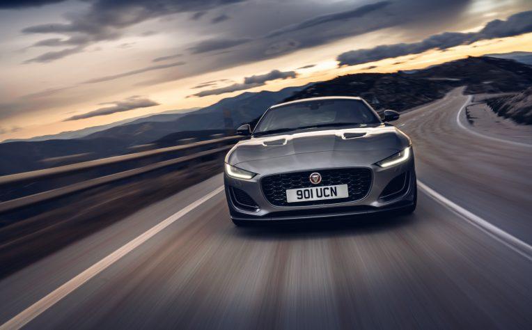 Nuova Jaguar F-Type 2020