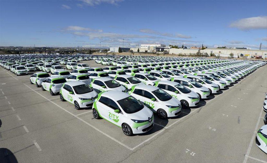 auto elettriche renault - car sharing