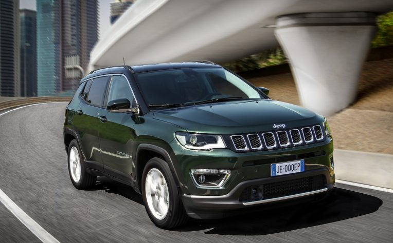 nuova Jeep Compass ibrida plug-in