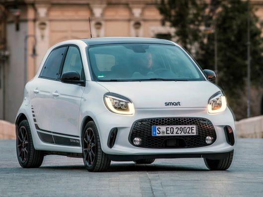 smart forfour elettrica 2020