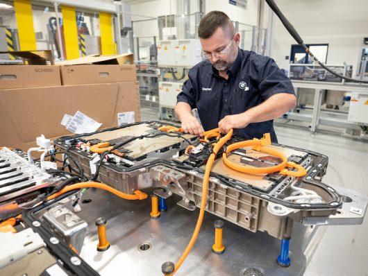Accordo BMW Northvolt batterie