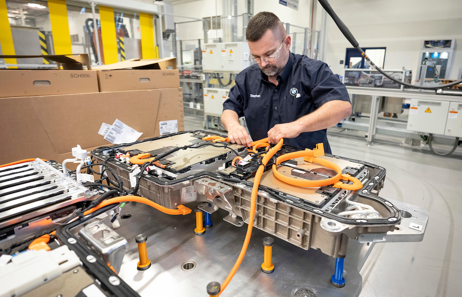 Accordo BMW Northvolt batterie