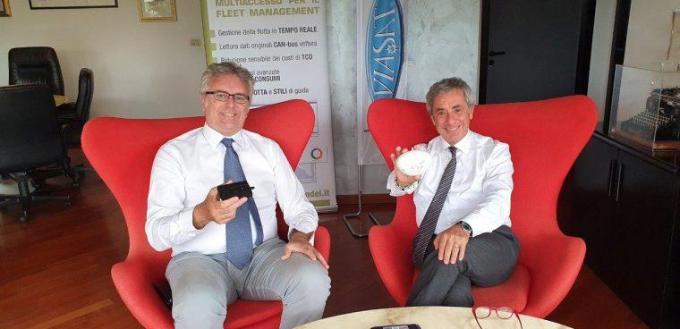 partnership Axodel Viasat