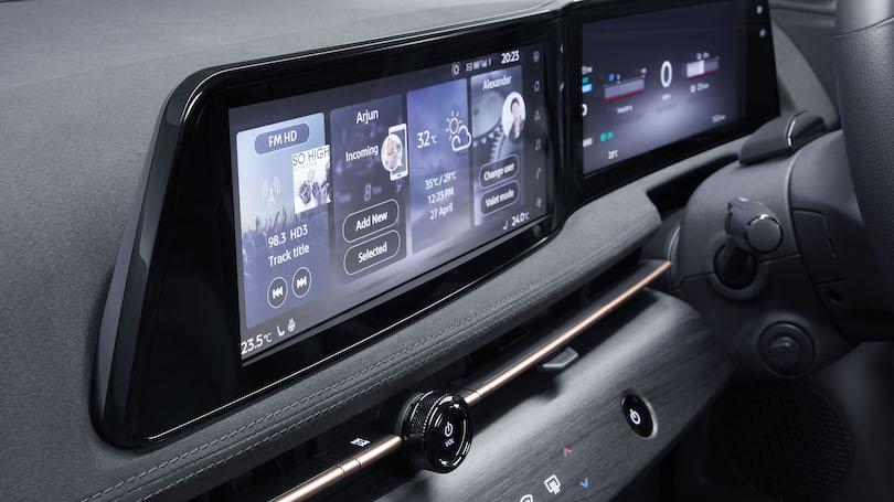 Infotainment di Nissan Ariya