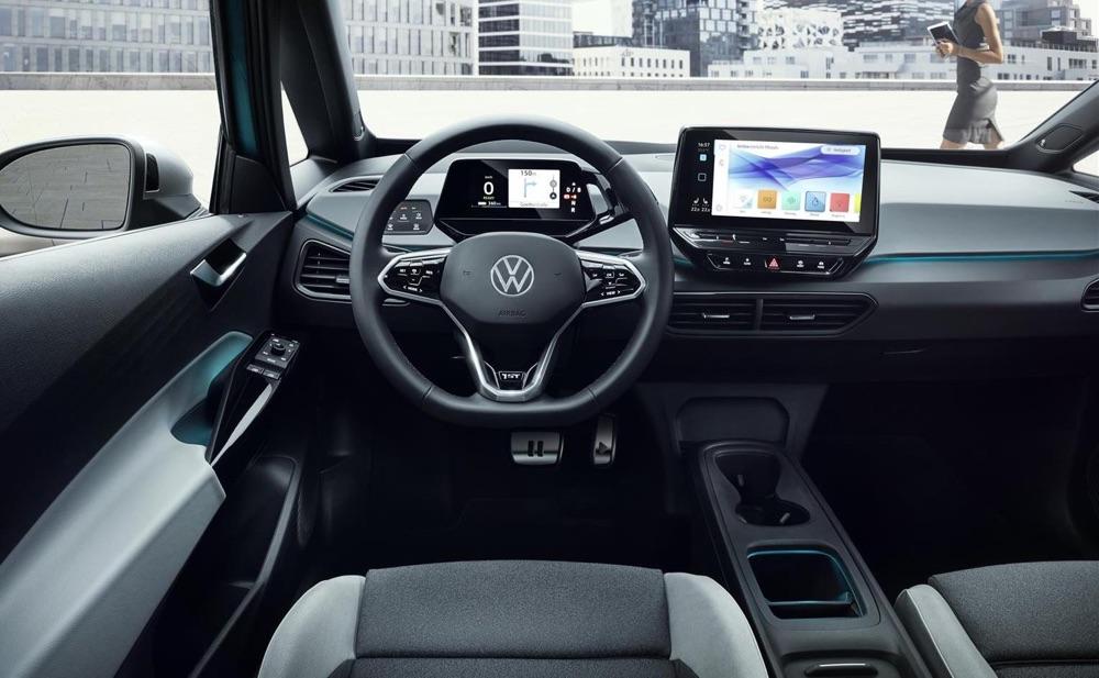 Interni di Volkswagen ID3