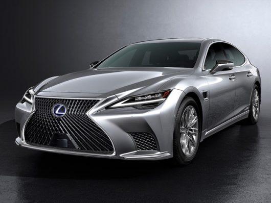Lexus LS restyling