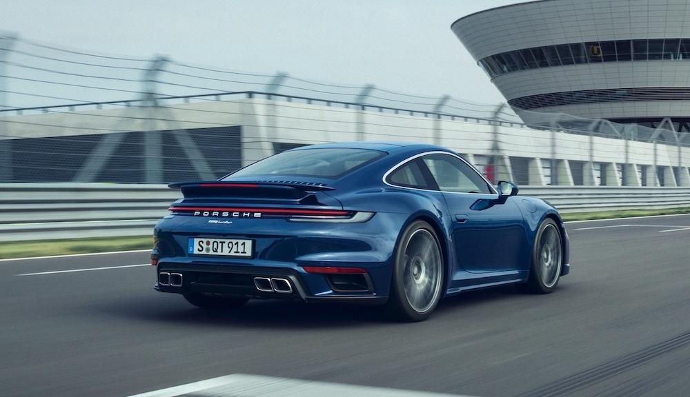 Motore di Porsche 911 Turbo