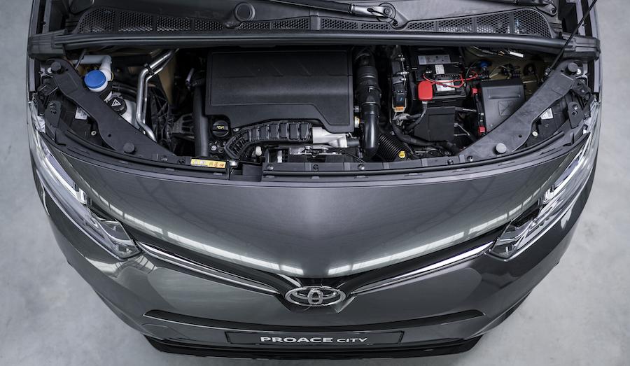 Motori di Toyota Proace City Verso