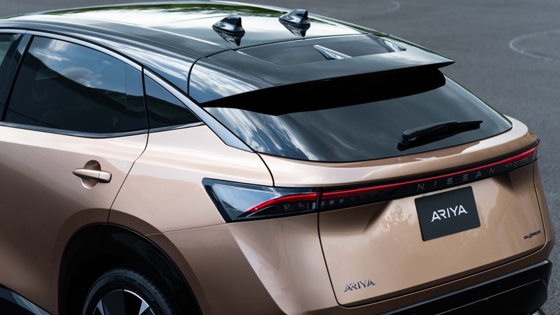 Nissan Ariya crossover coupe