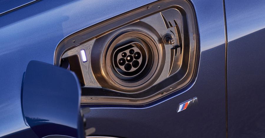 Ricarica BMW X1 ibrida plug-in