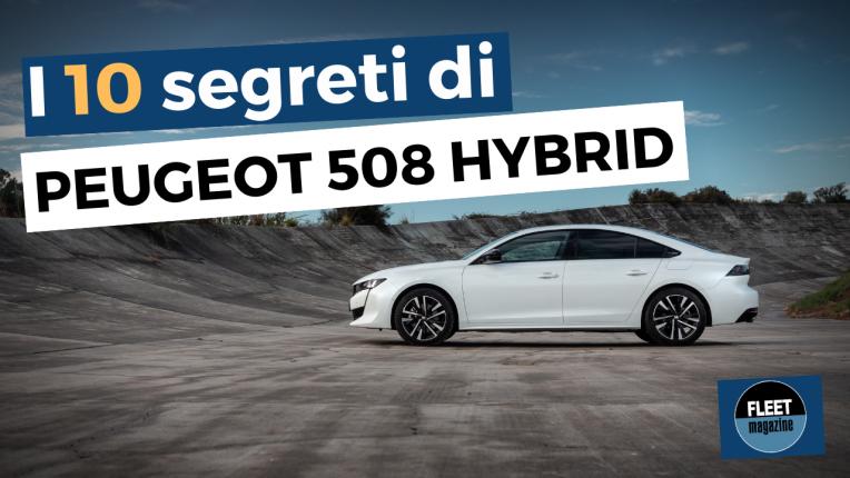 Peugeot 508 Hybrid - cover