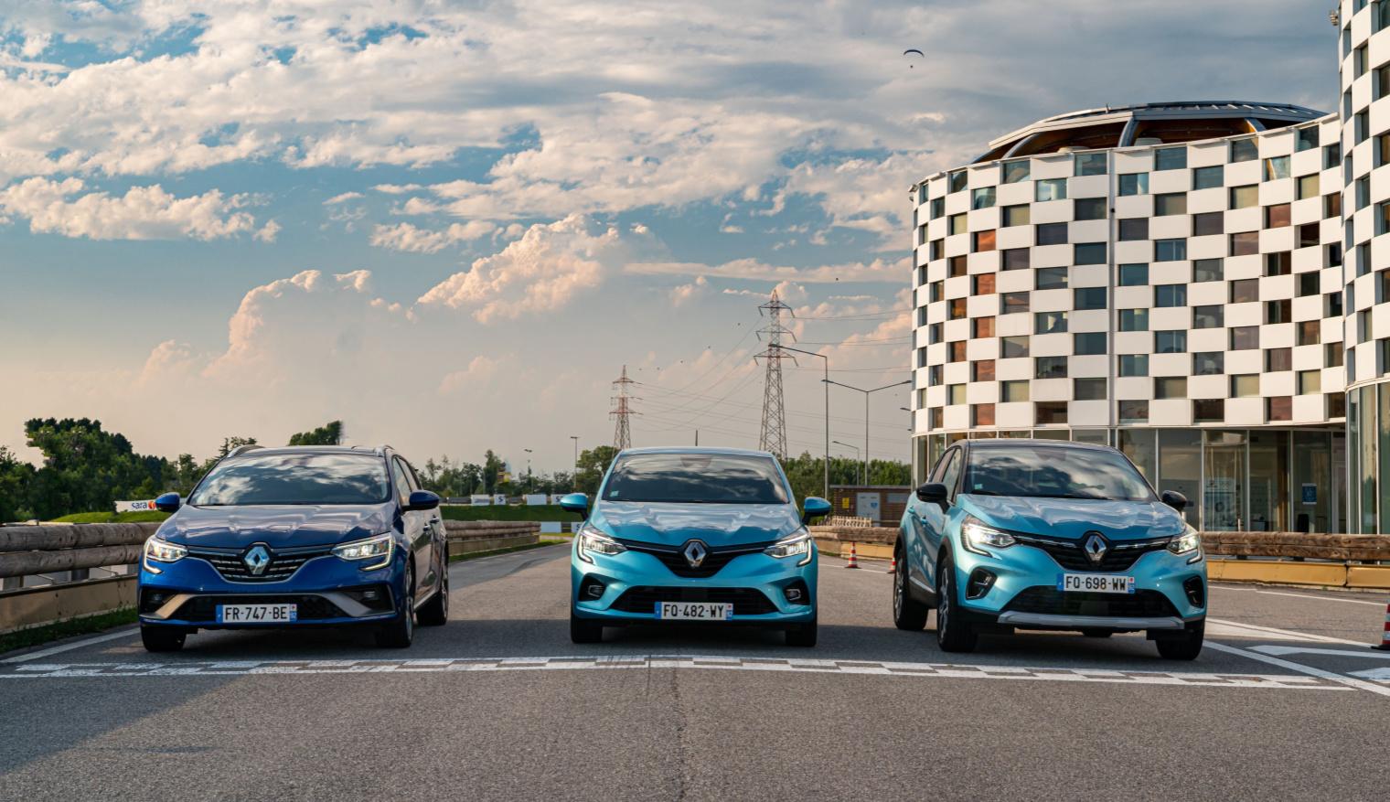 Test drive gamma Renault E-Tech