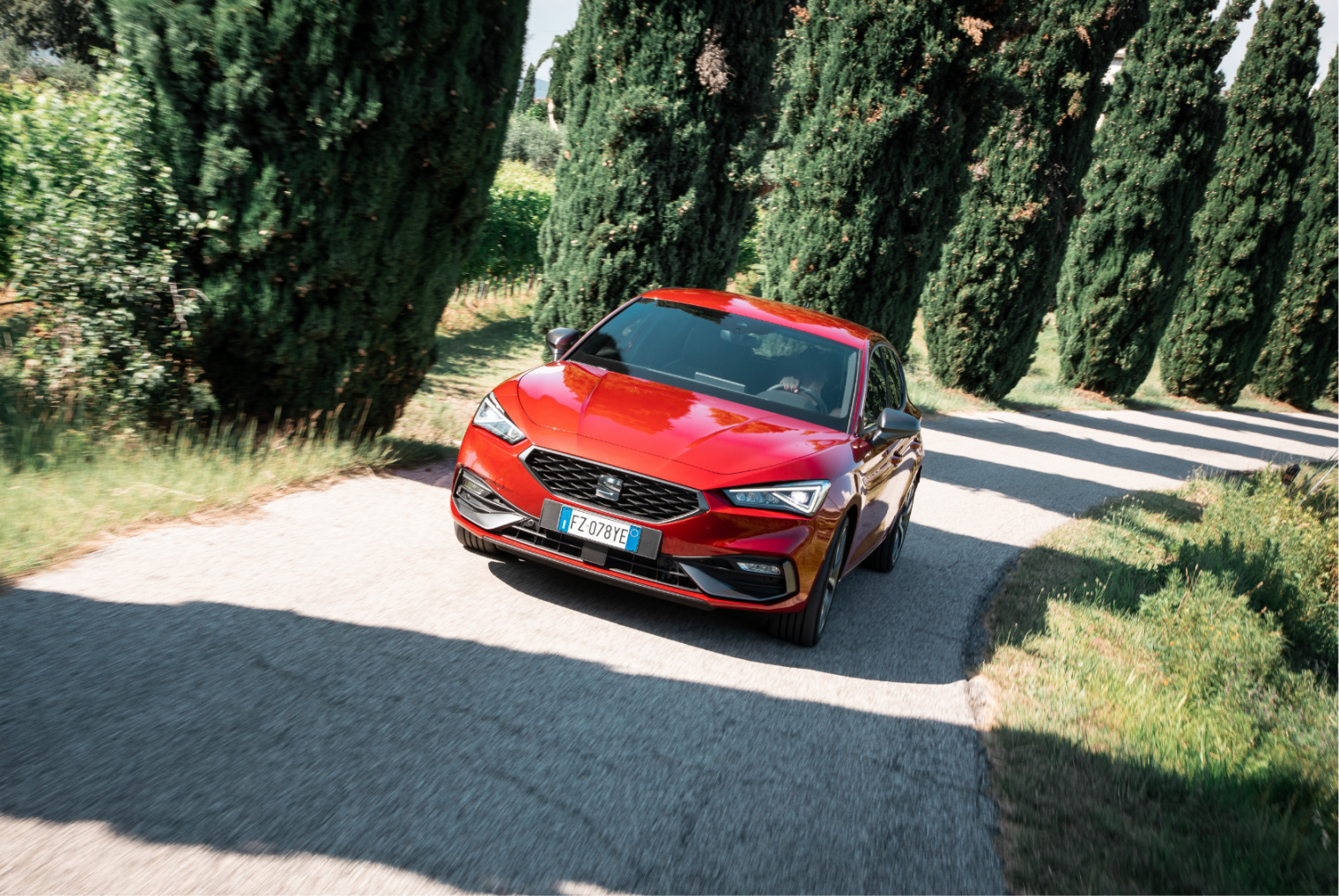 Test drive nuova Seat Leon Mild Hybrid