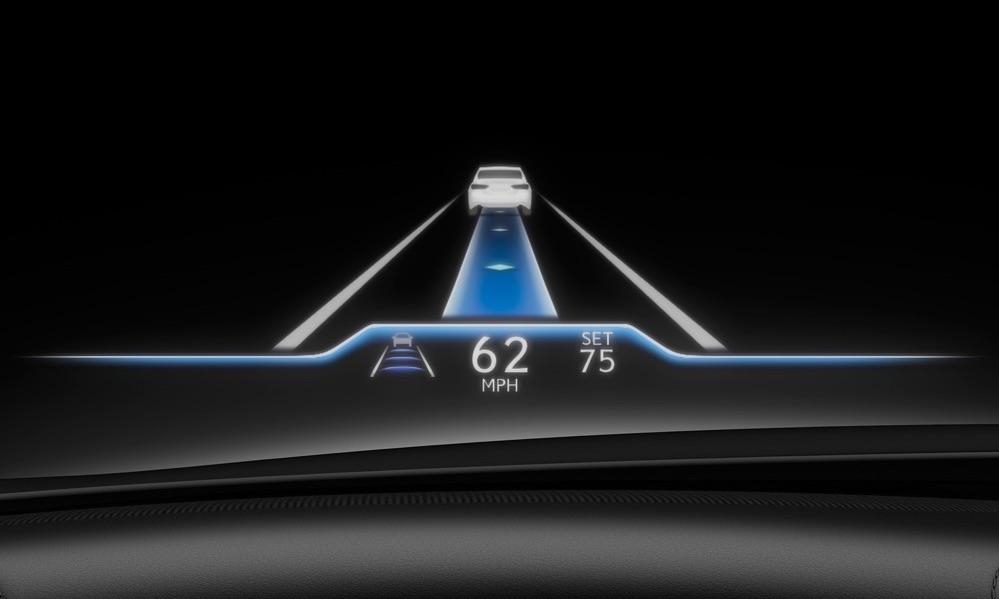 adas di Lexus LS 2021