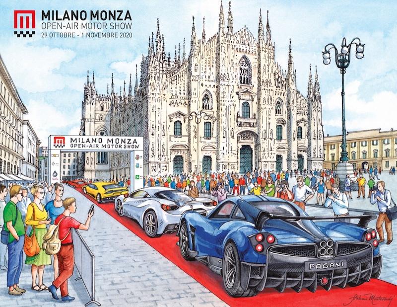 esposizione auto Milano Monza motorshow