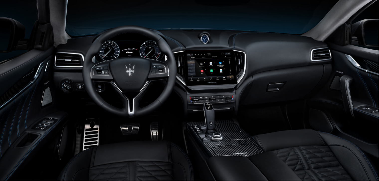 interni nuova Maserati Ghibli Hybrid