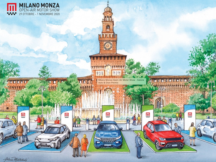 test drive Milano Monza Motorshow