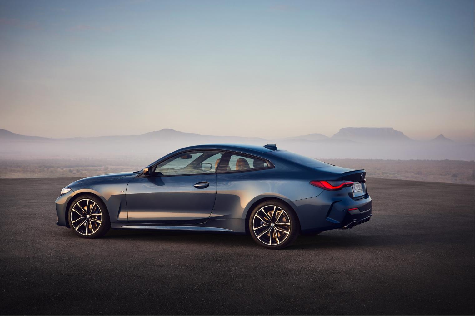 Esterni nuova BMW Serie 4 Coupé