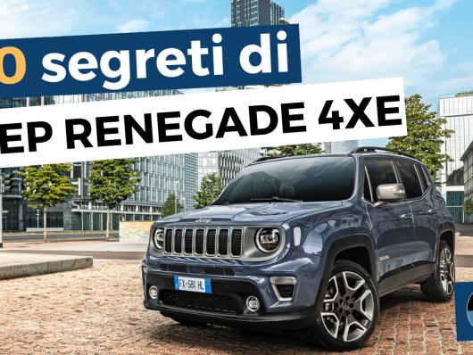 10 segreti - Jeep Renegade - cover