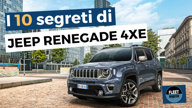 10 segreti - Jeep Renegade - cover