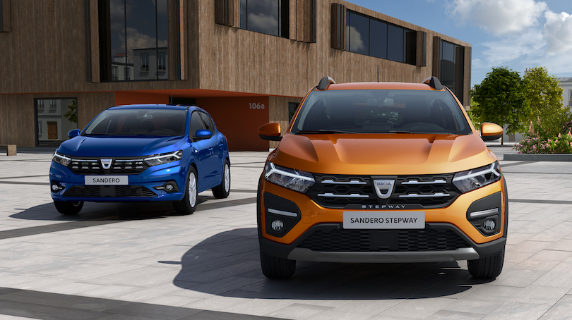 Adas di nuova Dacia Sandero