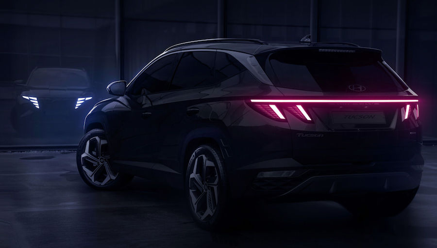 Fari led di Nuova Hyundai Tucson