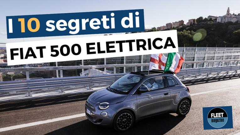 Fiat 500 elettrica - 10 segreti - cover