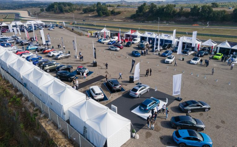 Fleet Motor Day stand Vallelunga