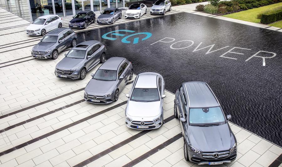 Gamma Mercedes ibride plug-in EQ Power