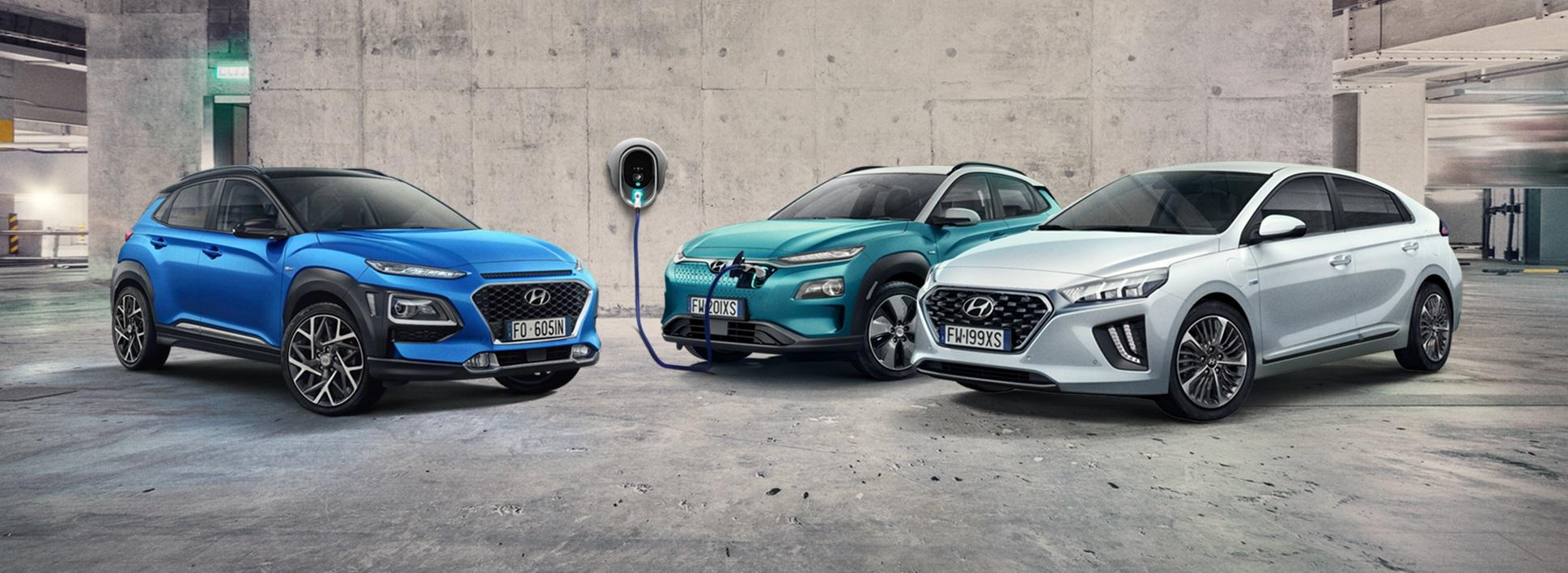 Gamma elettrificata Hyundai