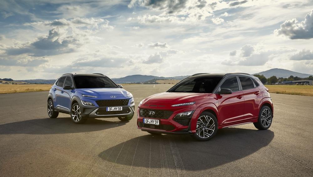 Hyundai Kona restyling