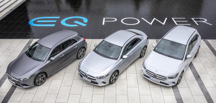 Mercedes ibride plug-in motore nel cambio