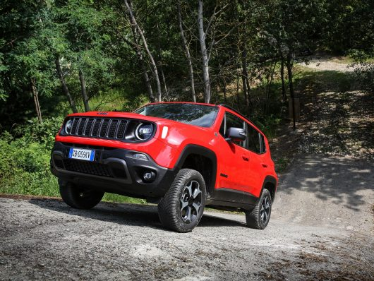 Motori nuova Jeep Renegade 4xe