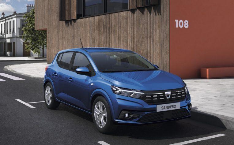 Nuova Dacia Sandero 2021