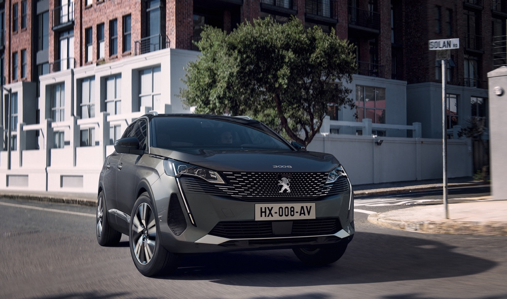 Peugeot 3008 restyling 2021