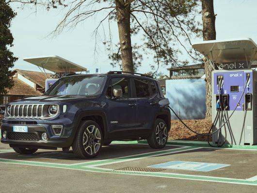 Ricarica nuova Jeep Renegade 4xe