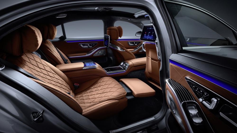 Sedili Executive di nuova Mercedes Classe S