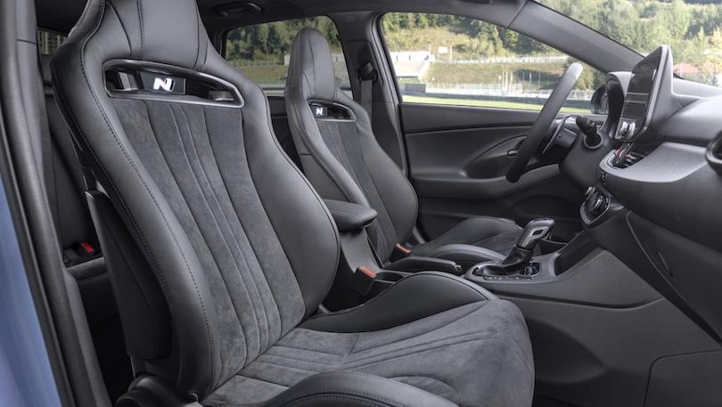 Sedili alleggeriti di Hyundai i30 N