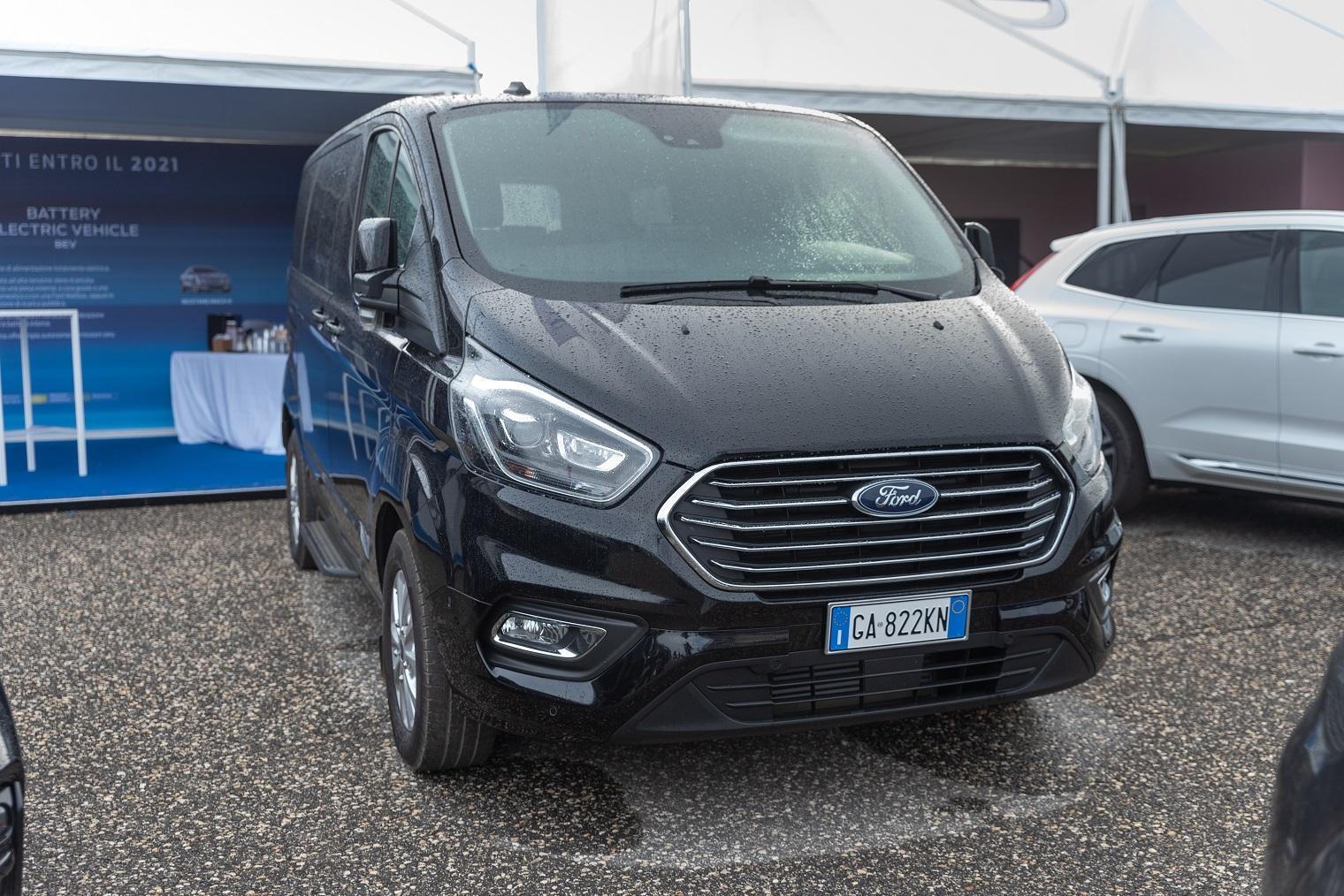 Veicoli commerciali Ford Fleet Motor Day 2020